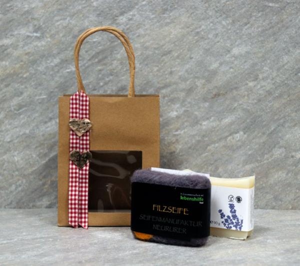 Geschenksackerl BIO & Filz Inhalt
