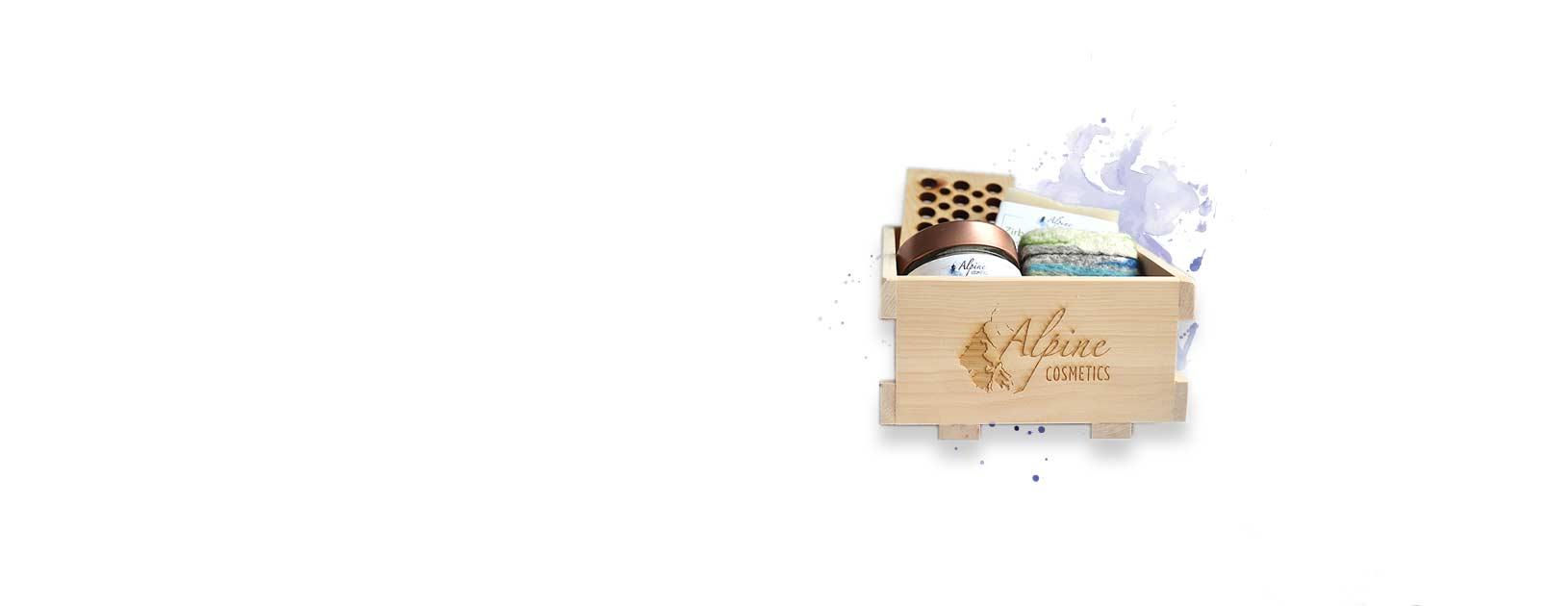 Individuelles Branding von Alpine Cosmetics
