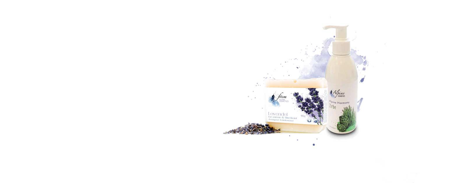 echt - frisch - rein: Einzigartige Rezepturen in handgemachter, veganer und biozertifizierter Naturkosmetik aus den Ötztaler Alpen.