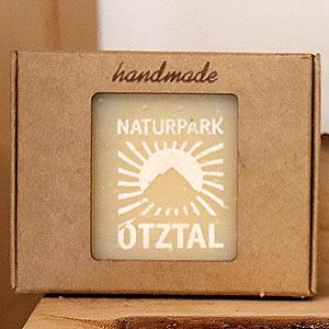 "Lasermanufaktur: Firmenbranding ""Naturpark Ötztal"""