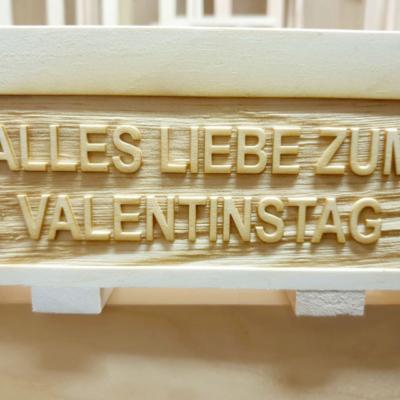 Zirbenkistl Branding Valentinstag