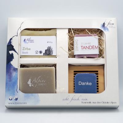 4er Geschenkbox mit Branding