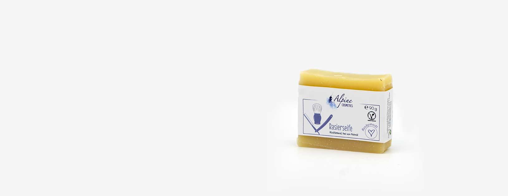 Rasierseife geeignet für jeden Hauttypen, eine glatte Rasur auf dem ganzen Körper & neutralem Duft